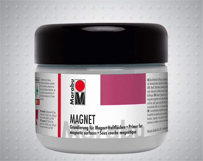 Магнитна боя - грунд Marabu Magnet paint 225 ml, 475 ml