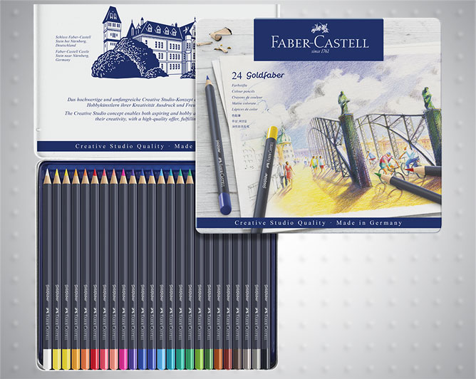 Моливи цветни Goldfaber Faber-Castell