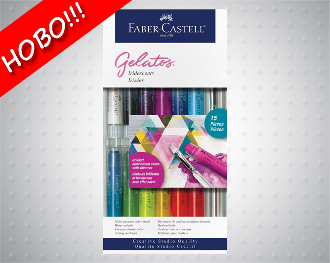 Акварелни пастели Gelatos - Faber Castell Комплекти