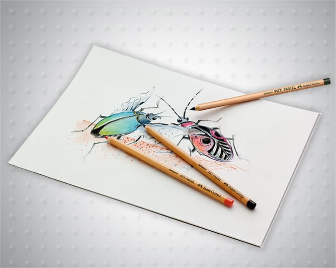Пастелни моливи PITT Pastel Faber-Castell
